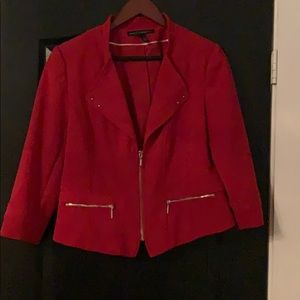 Red WHBM jacket size 12